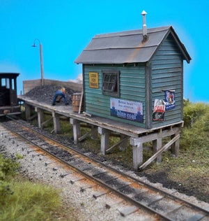 Brewer's Coaling Platform - O Scale Kit
