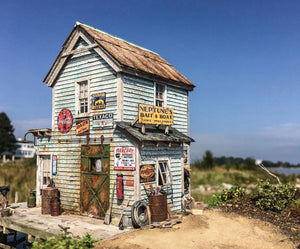 Neptune's Bait Shop - O Scale Kit