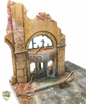 Kino - 1/35th Scale Diorama Kit