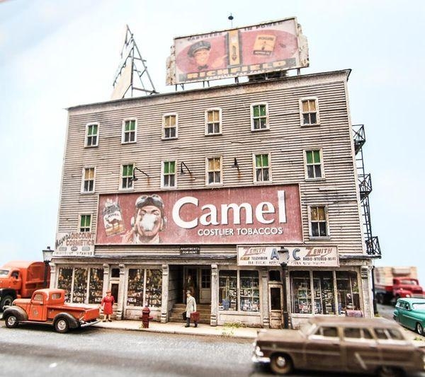 Metzger Building - HO Scale Kit