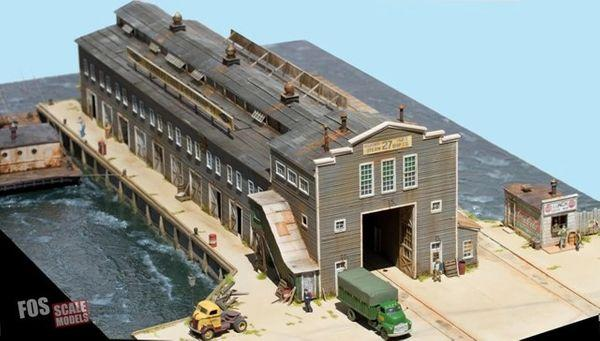 Pier 27 - HO Scale Kit
