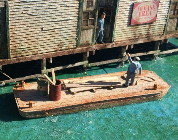 Utility Barge Set of 2 - HO Scale Kit