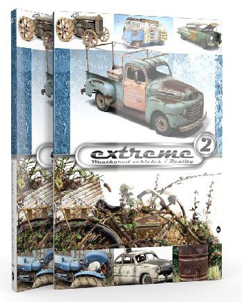 Extreme Weathered Vehicles / Realty Vol 2. Book