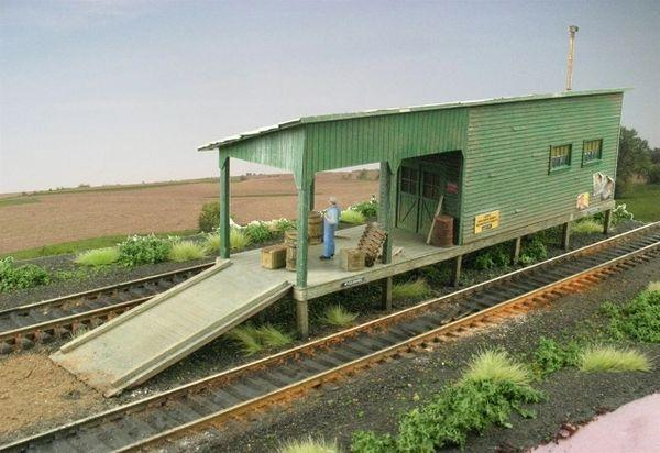 Juniper Freight House - HO Scale Kit