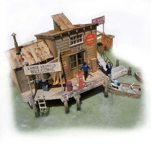 Marshall's Gas Dock - HO Scale Kit