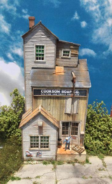 Cookson Soap Ho Scale Background Kit Fos Scale Models