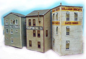 Triple Flats - HO Scale Background Kit