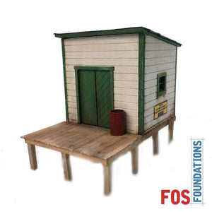 Shelton Depot - HO Scale Kit