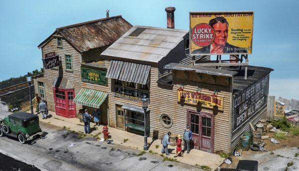 The Pub Crawl - HO Scale Kit