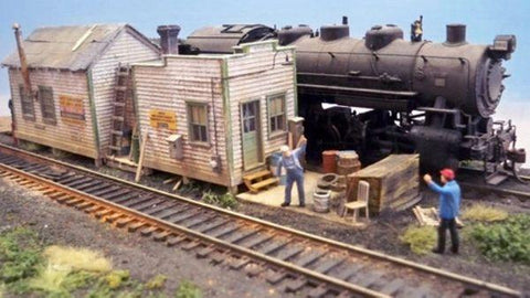 Yard Office Two - HO Scale Kit