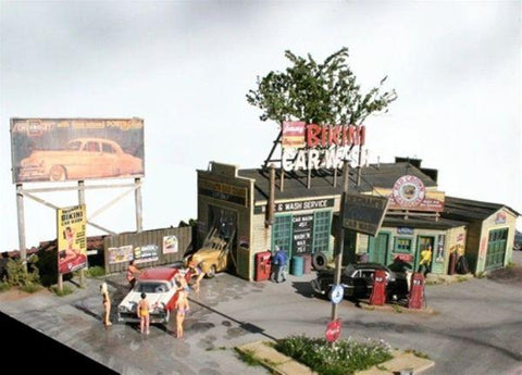 Deignan's Bikini Car Wash - HO Scale Kit