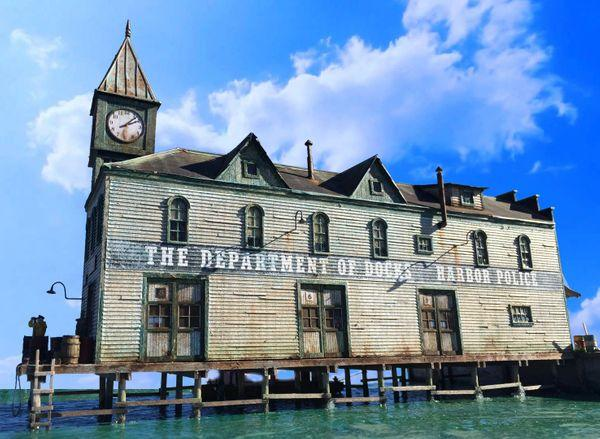 Dept. of Docks Part 2- HO Scale Kit