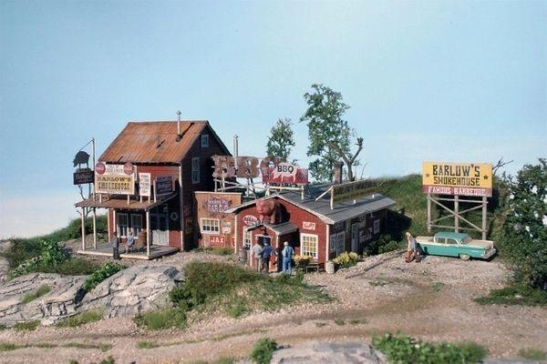 Barlow's BBQ - HO Scale Kit