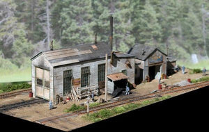Engine House at Caldwell Junction - HO Scale Kit