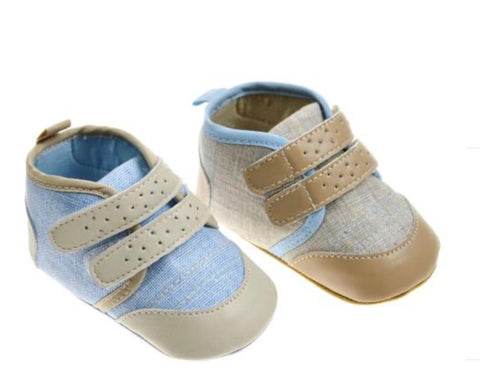 soft touch baby boys canvas shoes
