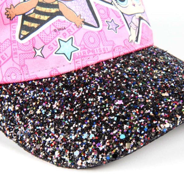 LOL Surprise Premium Glitter Cap
