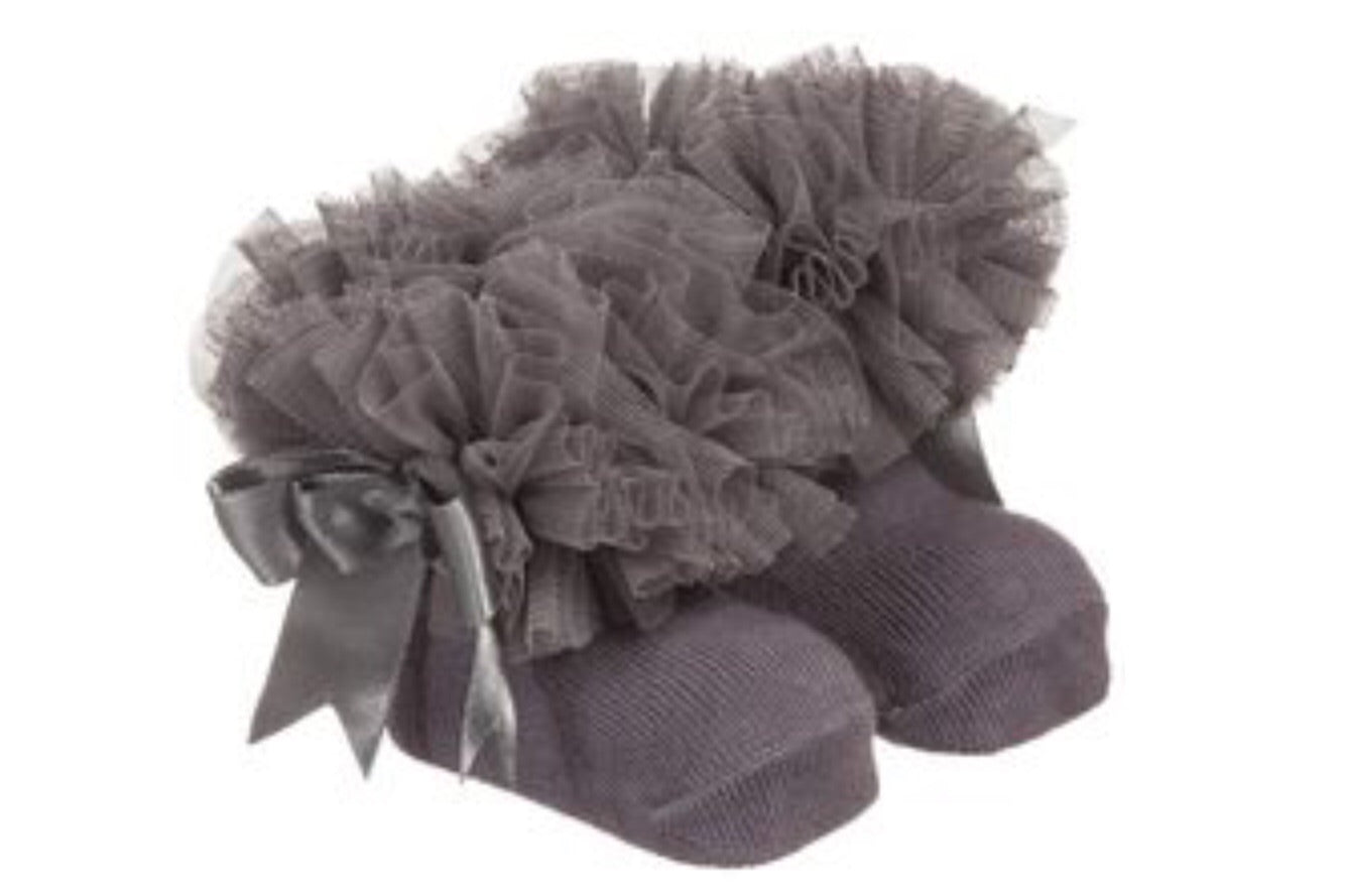 Couche Tot Grey Tutu Socks