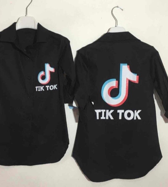 black girls TikTok shirt Tik Tok Clothes Top Girls wear Gillytots Childrens Boutique