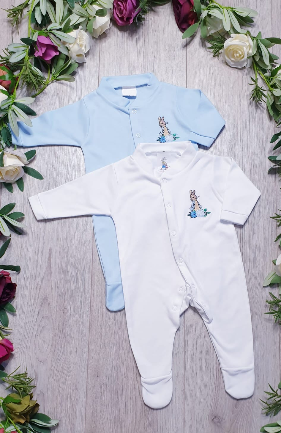 peter rabbit all in one babygrow babywear beatrix potter collection peter rabbit
