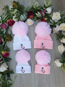jemima puddleduck little lady pink white peter rabbit hat baby hats