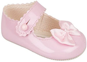 baypods Baypods Bay pods Baypod soft sole pram shoes pink first steps