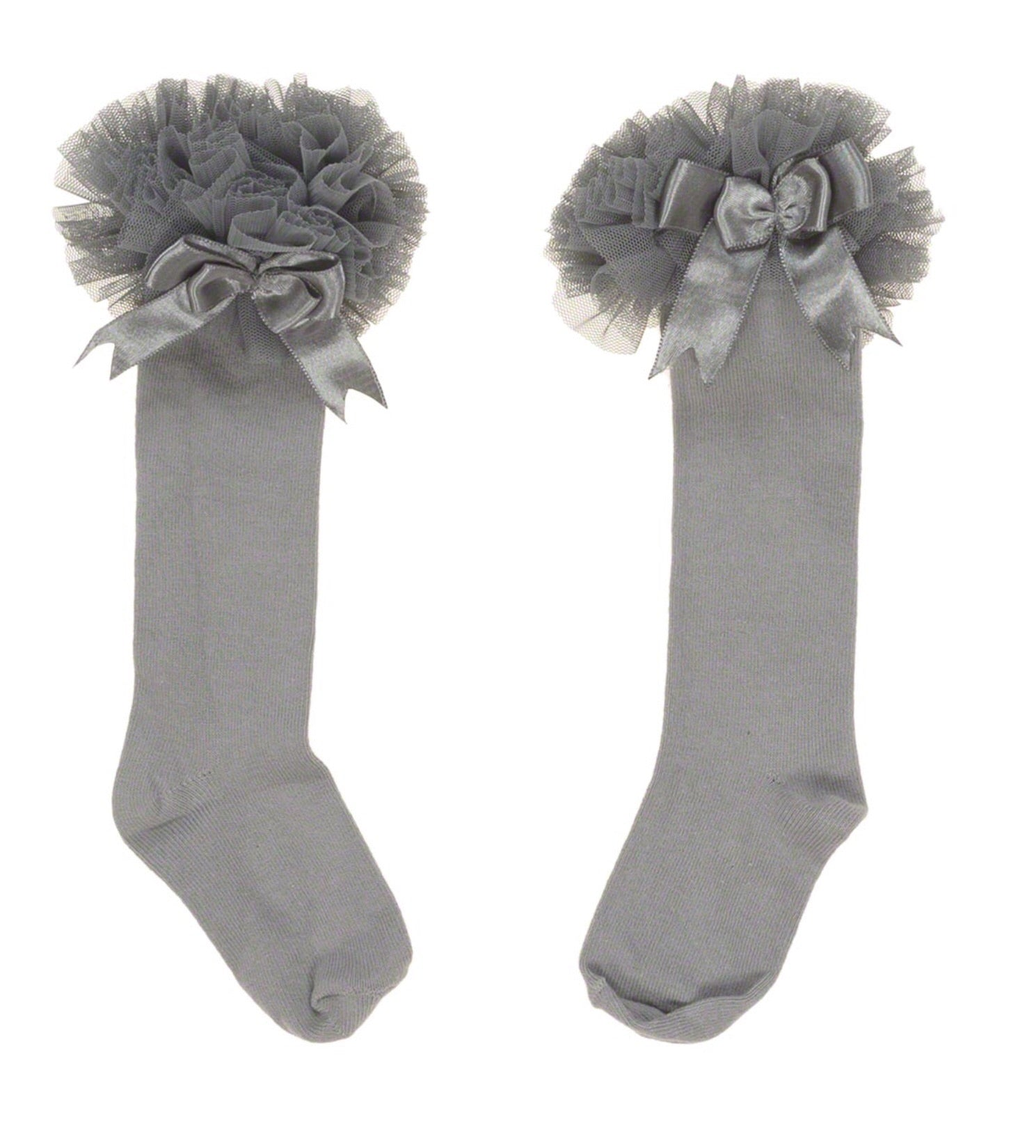 Couche Tot Grey Long Tutu Socks