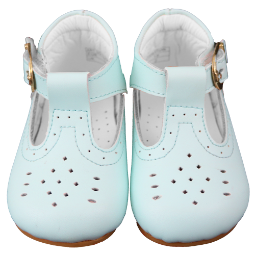 Couche Tot Boys H Bar Johnathan Shoes - Baby Blue