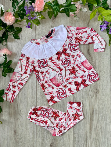 beau kid lemon navy white striped dress with belt gillytots childrens boutique