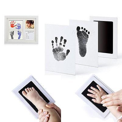 Ink-Free Baby Footprint
