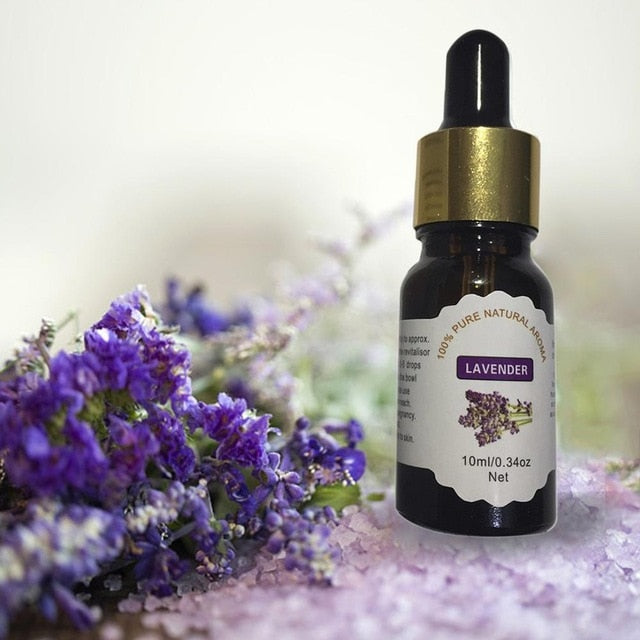 Natural Essential Oils (12 Scents)