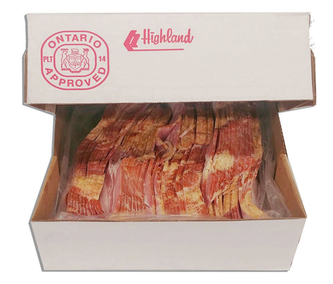 5LB BOX OF BACON
