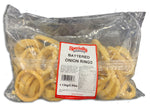 FROZEN BATTERED FRIED ONION RINGS 2.5LB BAG