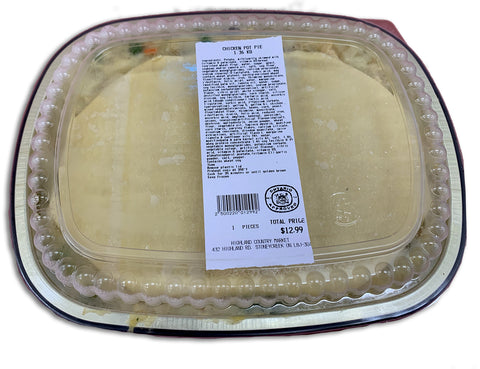 FROZEN - CHICKEN POT PIE - 1.36KG