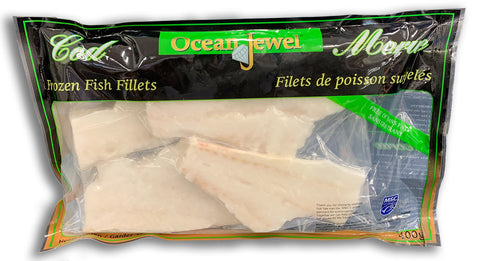 FROZEN - FILLETS OF FISH COD - 400G