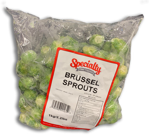 FROZEN BRUSSEL SPROUTS 2.2LB BAG