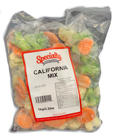 FROZEN FROZEN CALIFORNIA MIX 2.2LB BAG