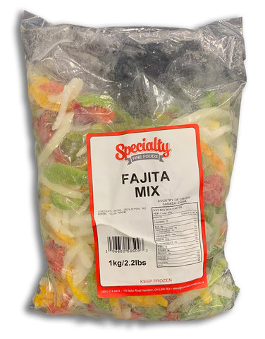 FROZEN FAJITA MIX 2.2LB BAG