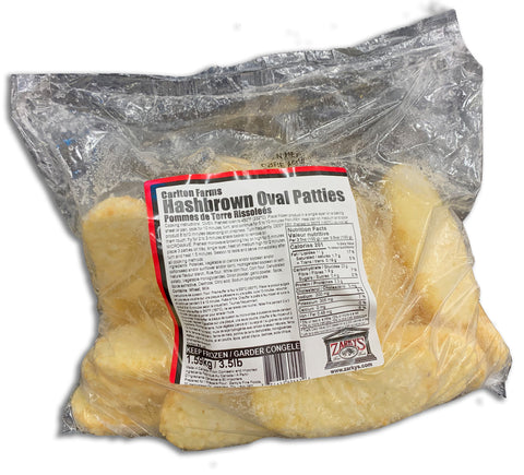 FROZEN HASHBROWNS 3.5 LB BAG