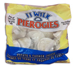 FROZEN - JJ WILK - POTATO AND FARMER CHEESE PIEROGIES - 907G