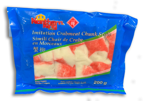 FROZEN - IMITATION CRAB MEAT CHUNK STYLE 200G