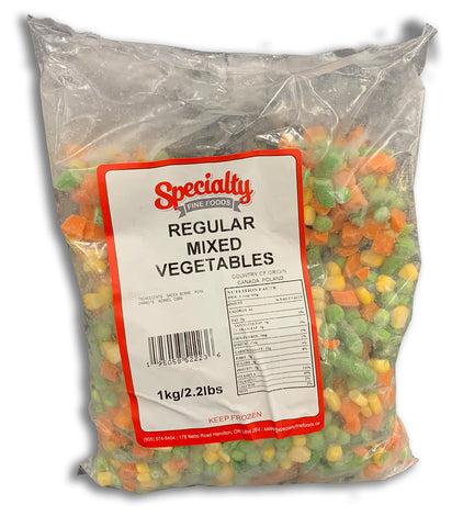 FROZEN REGULAR MIXED VEGETABLES 2.2LB BAG
