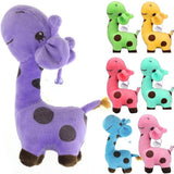 28/38 cm purple pink blue Giraffe Dear Soft Plush Toy Animal