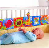 1pcs Baby Rattle Toy Baby Bed Around and Cloth Book