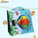 1pcs Jollybaby Baby Cute Toys Kids Early Cloth Books