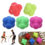 Outdoor Sports Silicone Hexagonal Ball