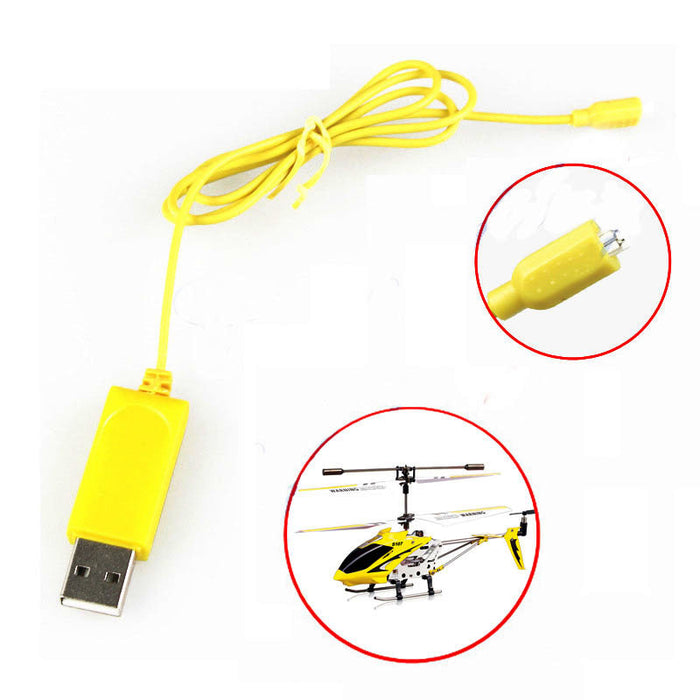 2PCS RC Helicopter Syma S107 S105 USB Mini Charger Charging Cable