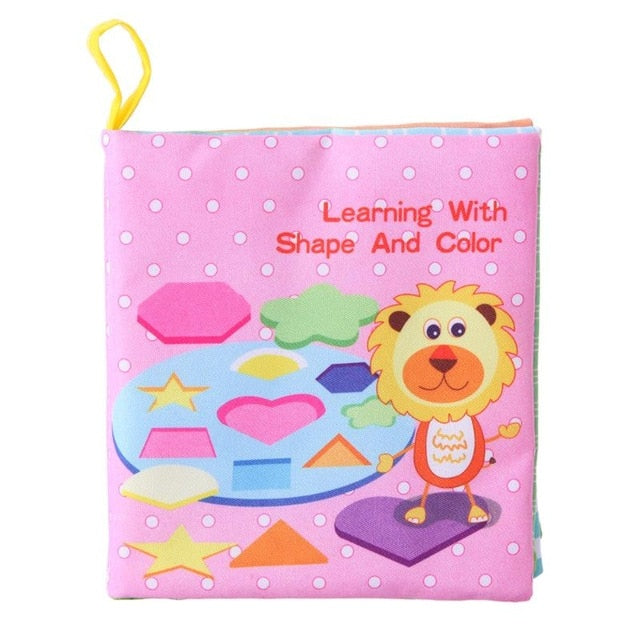 Baby Palm Cloth Book Early Intelligence Development Education Toy
