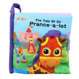 1pcs Jollybaby Owl Horse Cloth Book Baby Fabric Books