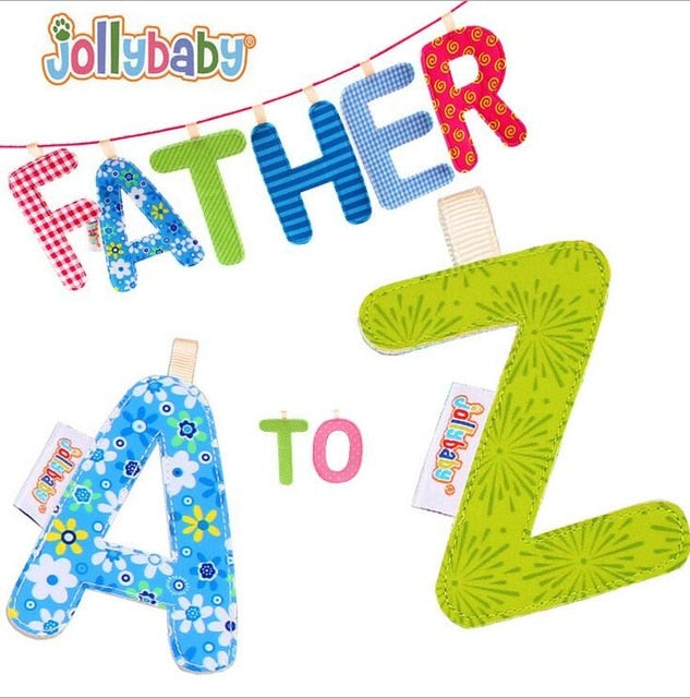 1pcs Jollybaby Baby Early Letter Book