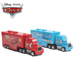 4-21cm Disney Pixar Cars 2 Toys Lightning McQueen Mack Uncle Truck